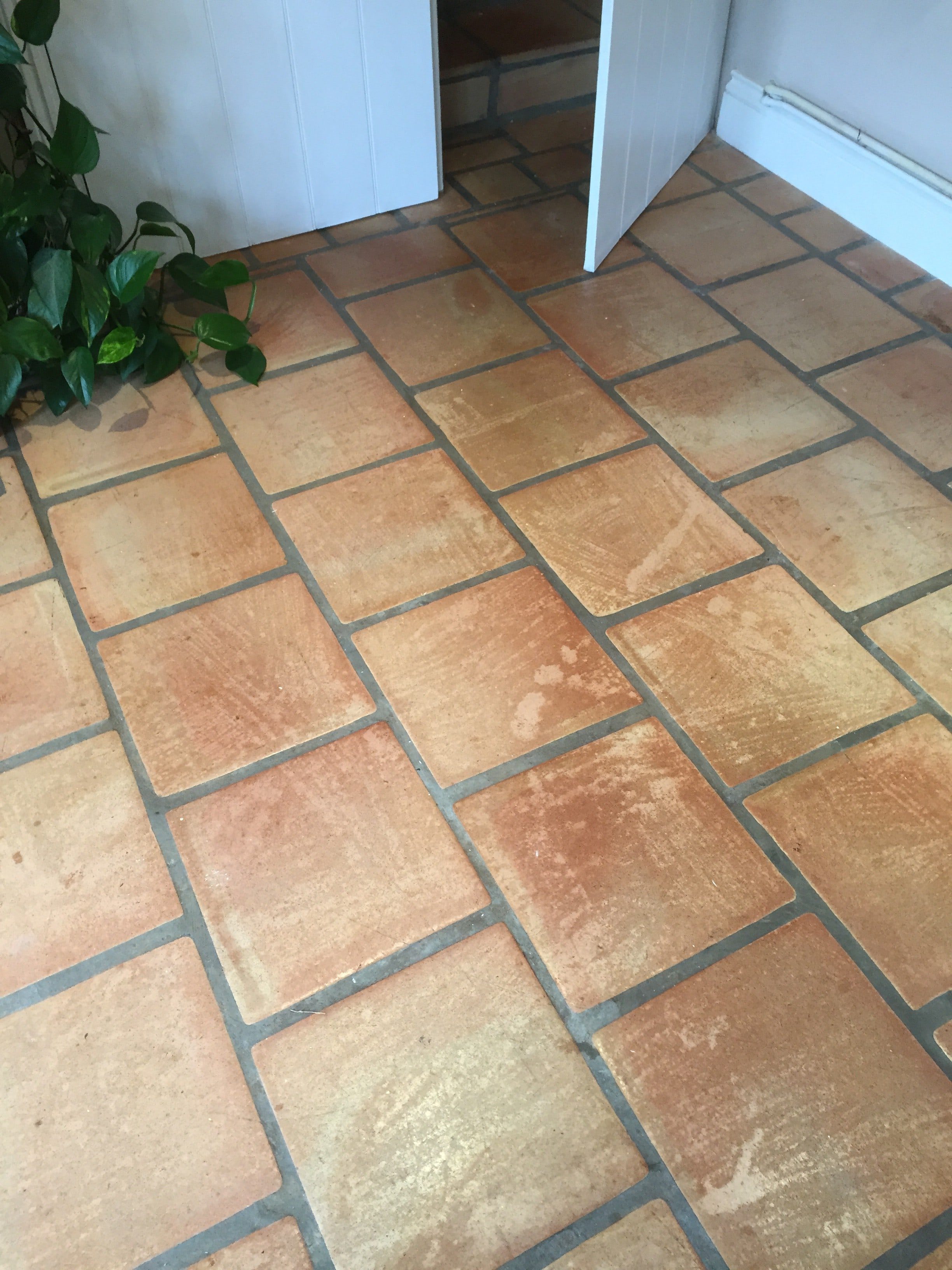 bleach damaged sealer replaced on a