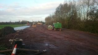 Muchelney work Oct 1 Flood Action Plan