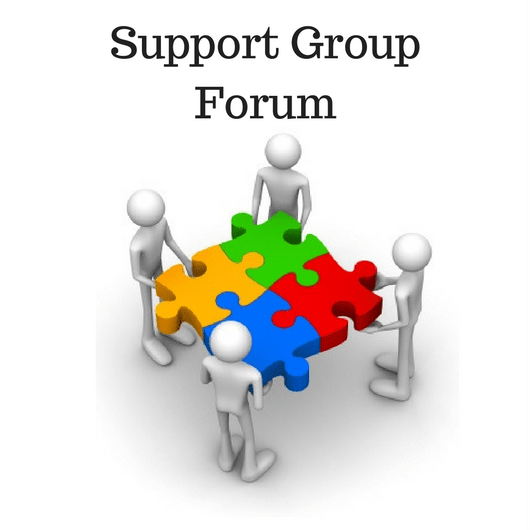 Support group forum pic