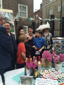 MP Kier Starmer and Deputy Mayor gave prizes to winners of the 'Somers Town Now' competition