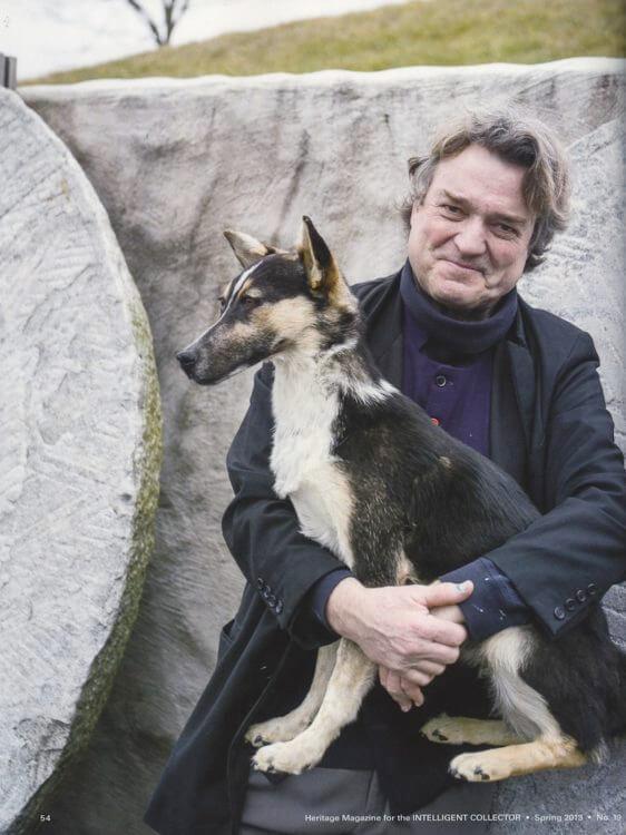 Jamie Wyeth Featured In Heritage Magazine Somerville