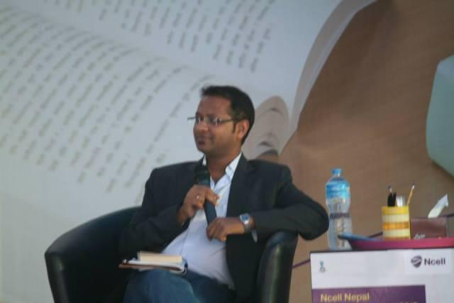 In a Literature festival, talking to Annie Zaidi, the writer