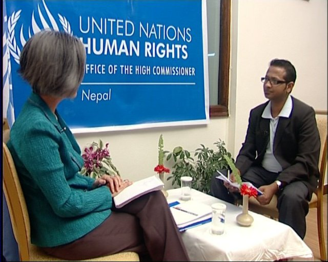 Kyung Wha Kang, UN Deputy High Commissioner for Human Rights allowed me to talk to her once