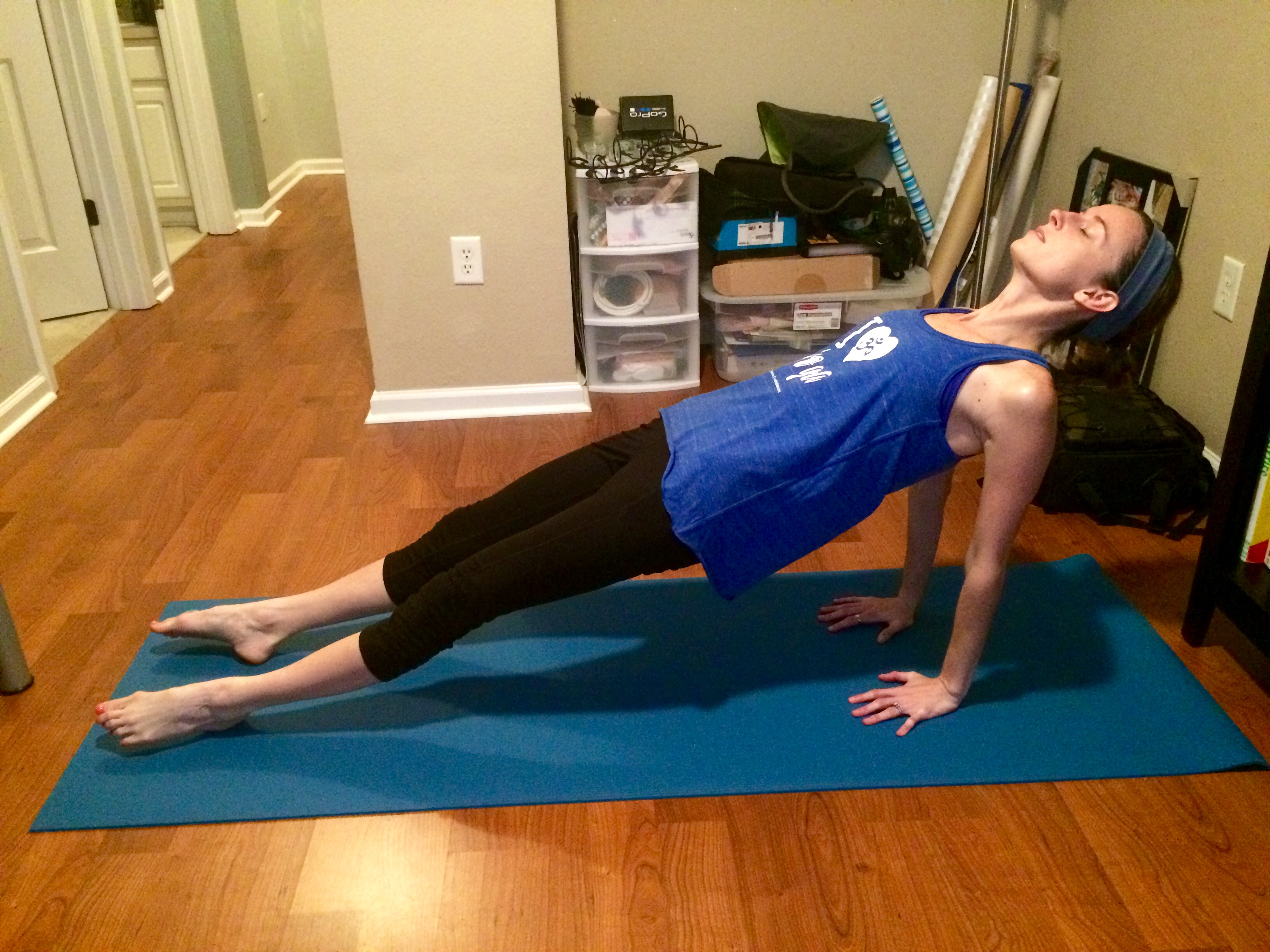 Yoga Challenge Day 22: Inclined Plank Pose - Some Shananagins
