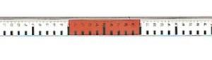 Règle métallique graduée, 0,5 m