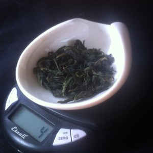 Bao Zhong, a Twisted Oolong.