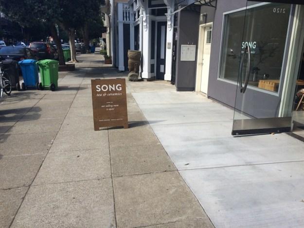 song-tea-sign