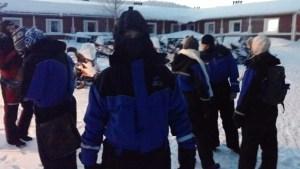 thermopak sneeuwscooter fins lapland