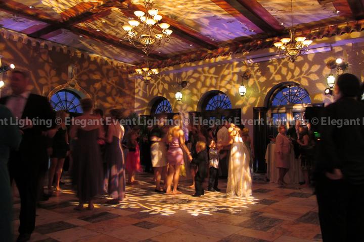 pattern lighting elegant event