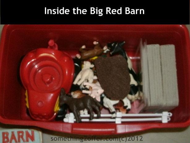 Inside the Big Red Barn