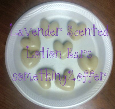 lavender scented lotion bars