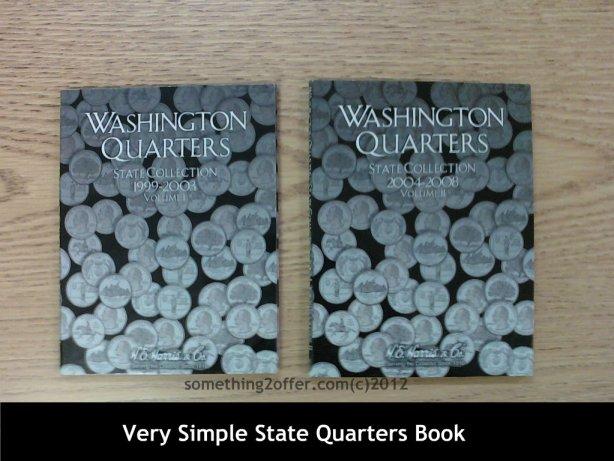 simple state quarters book