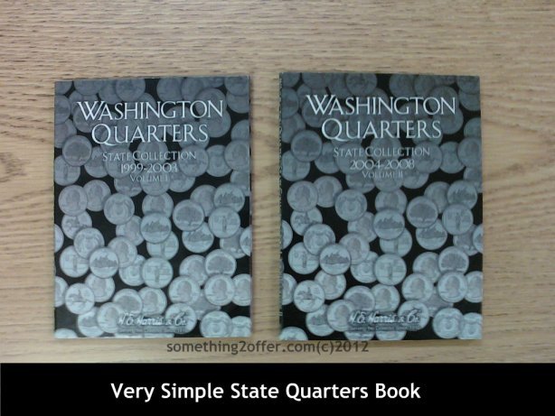simple state quarters book