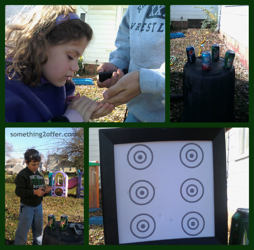 pellet gun, target shooting, safety