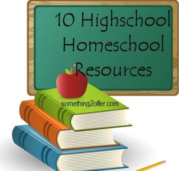 homeschool high school resources