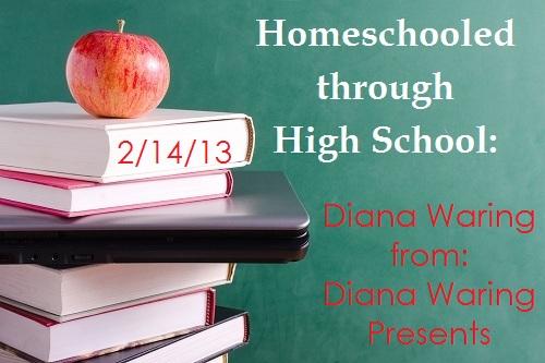 homeschooled highschool Diana Waring