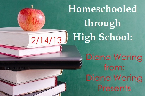homeschooled highschool Diana Waring