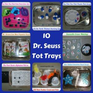 10 Dr. Seuss Tot trays