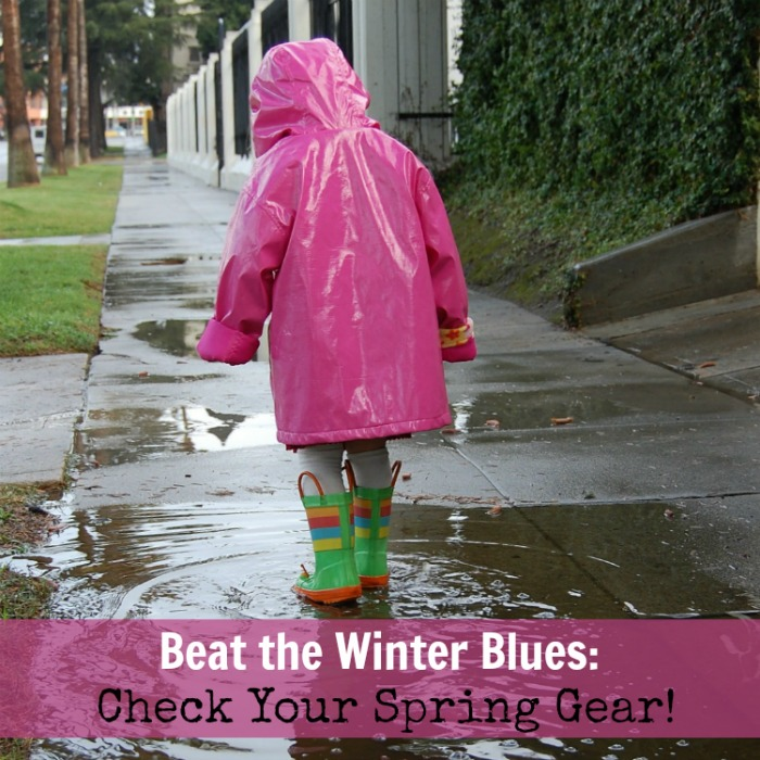 Beat the Winter Blues: Check your Spring Gear!