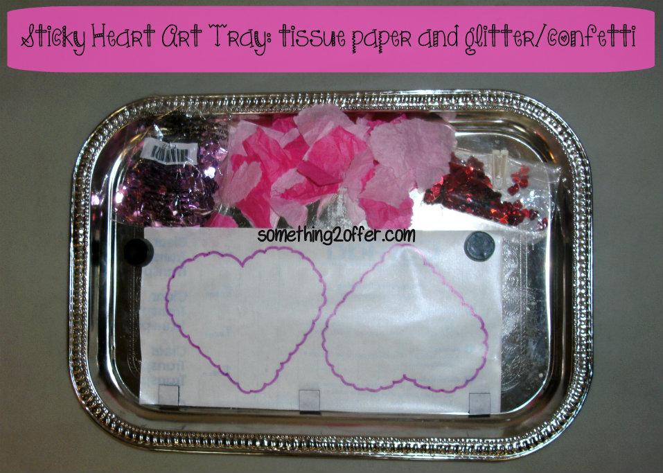 Sticky heart art