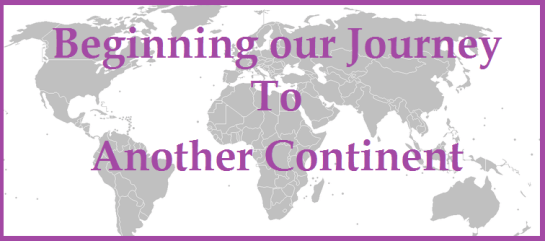 journey to another continent