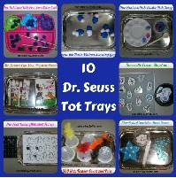 Dr Seuss  Tot Trays- Montessori