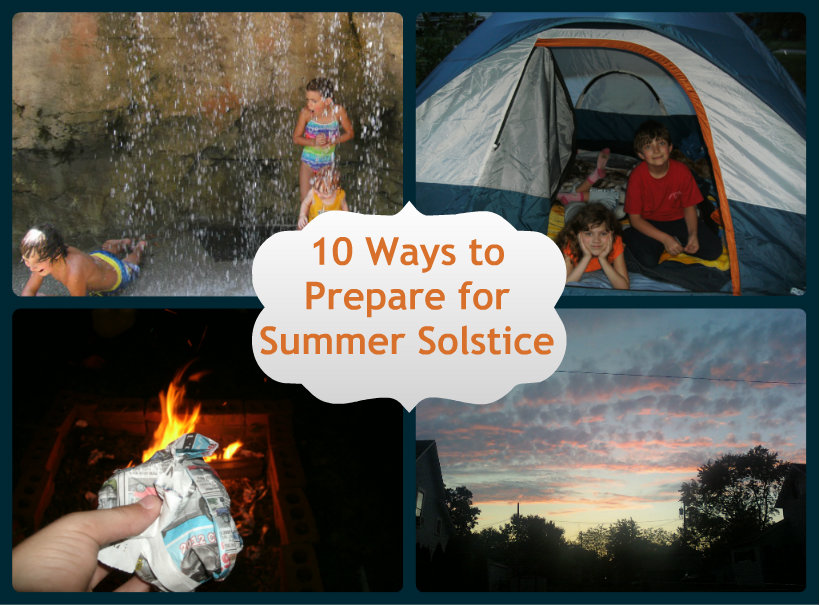 10 ways to prepare for Summer Solstice