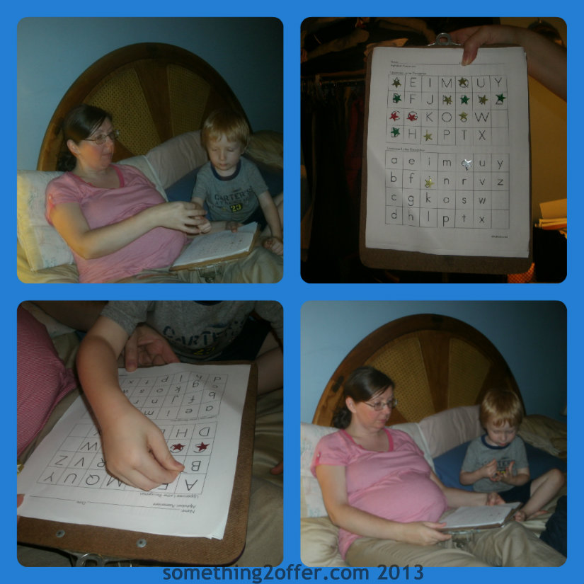 preschool letter assessment