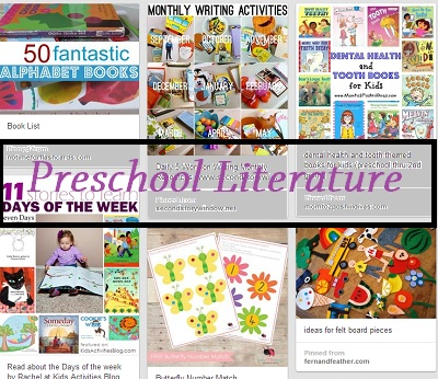 preschool literature