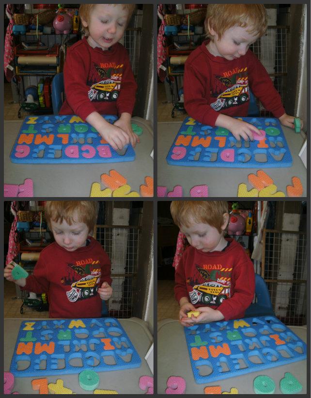 foam alphabet puzzle