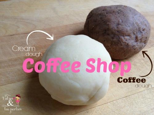 Coffee & Cream Dough Pretend Coffee Shop
