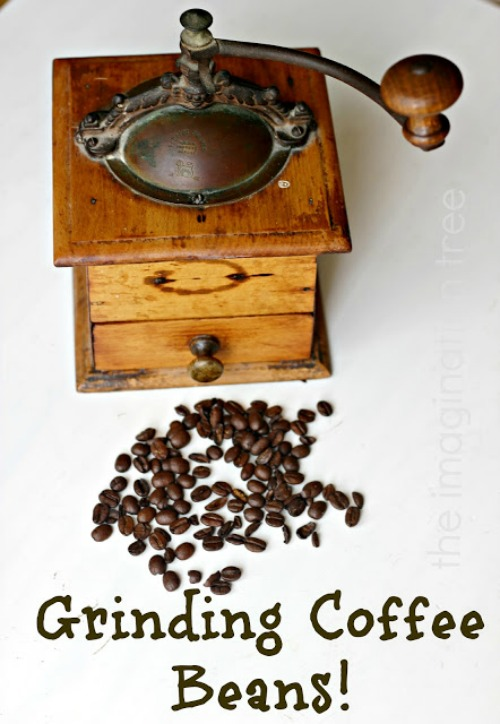 grinding+coffee+beans+text