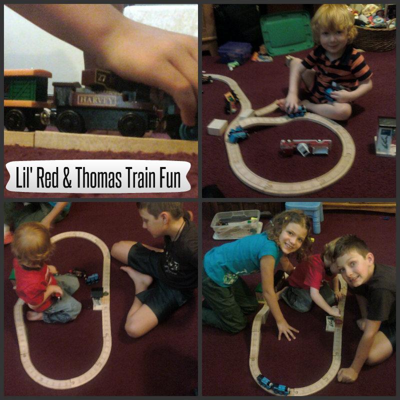 Thomas Train Collage