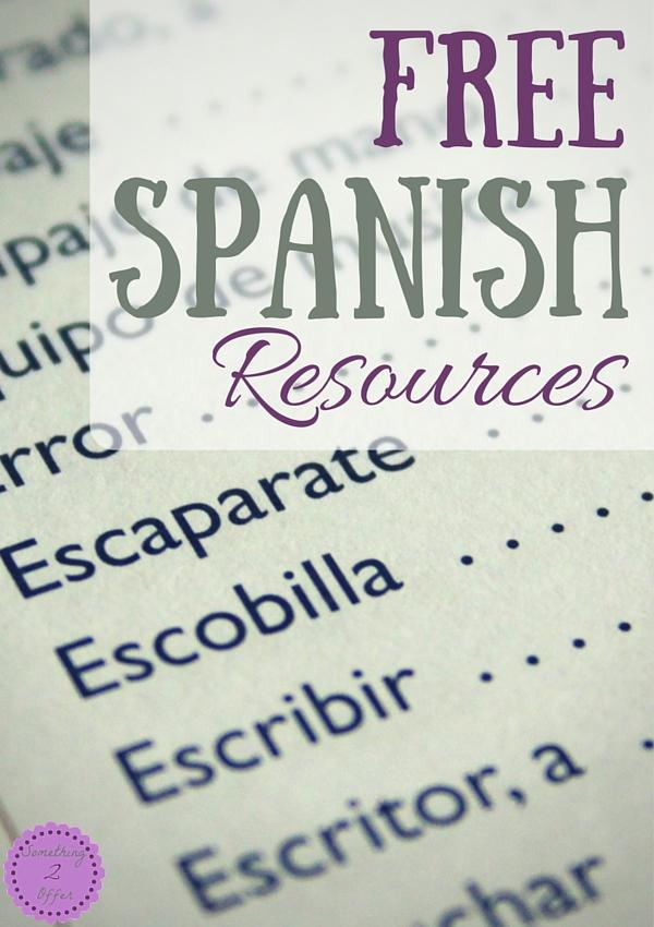 Free Spanish Resources-