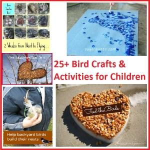 bird crafts & activities