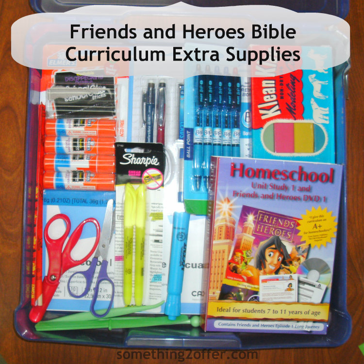 Friends and Heroes Bible Curriculum Supplies