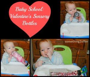 baby school valentines sensory bottles