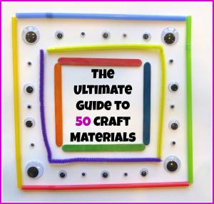 ultimate guide to 50 craft materials