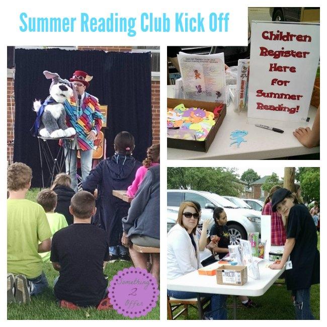 Summer Reading Club Kick Off