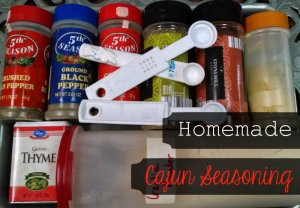 homemdae cajun seasoning lets you choose how fresh the ingredients are and how spicy you want your mix.