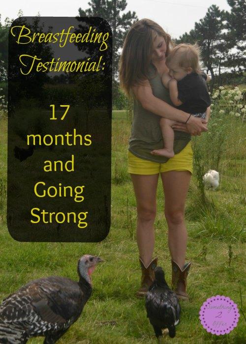 breastfeeding 17 months