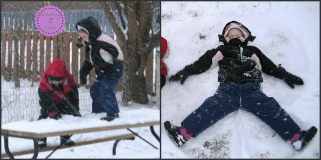 snowangel Collage