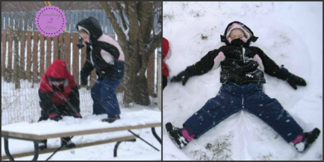 snowangel Collage