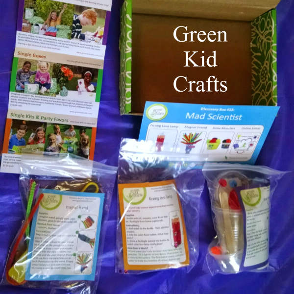 green kid crafts kit