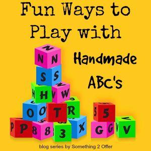 Fun Ways to Play with Handmade ABC
