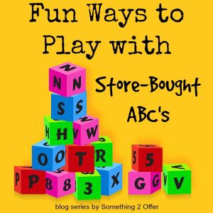 Fun Ways to Play with Store-bought ABC