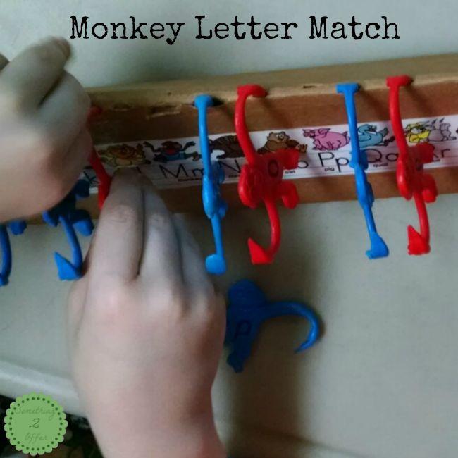 monkey letter match