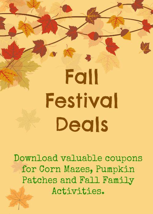fall festival deals