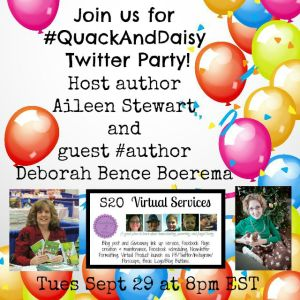 #quackAndDaisy Twitter Party