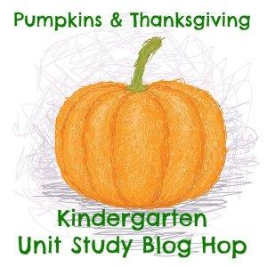 pumpkins and thanksgiving kindergarten hop